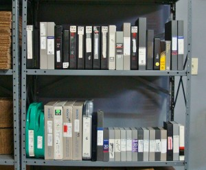 cassette et bobines video