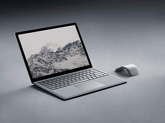 PC et souris Arc Edition de Microsoft